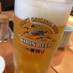 60699580 - 生ビール 一番搾り ¥500