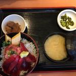 60699583 - しらすマグロ丼 ¥1800