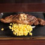 """いきなり!ステーキ - """"本格熟成""""国産牛サーロインステーキ 1グラム10円"""