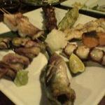 4番サード魚真 - 0501104番サード魚真串盛