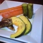 ごちそう さん・ら - 歯応えの美味しい、野菜のピクルス。