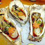 夢の蔵 - 牡蠣は一個¥390円で美味しいです!