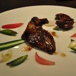 レストラン フランセ  グリグリ - フランス産仔鳩のロティ モルシージョ