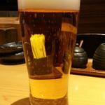 60700343 - 生ビール580円