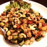 中華料理 琨泰 - 鶏のカシューナッツ炒め