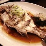 中華料理 琨泰 - 鯛の蒸し煮