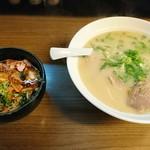大道 - 豚めし定食【¥800-】