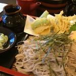 60703323 - 野菜天ざる蕎麦