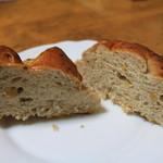 パンのトラ - くるみパン、食感が◎