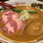 製麺処 蔵木 - 特製魚介豚骨ラーメン