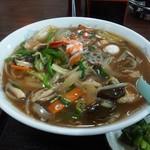 福家食堂 - 広東麺750円
