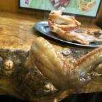 なると 本店 - なると本店(北海道小樽市稲穂)若鶏半身揚げ