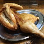 なると 本店 - なると本店(北海道小樽市稲穂)若鶏半身揚げ 980円