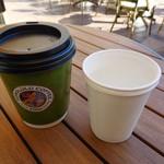 ホノルルコーヒー - マカダミアナッツのフレーバーコーヒー Sサイズ¥360-