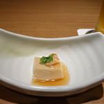 別邸 竹の庵 - 落花生葛豆腐