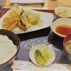 天ぷら天清 - 料理写真:中天麩羅定食