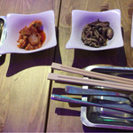 COCO Chiken & Ribs - セットの前菜