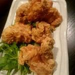 全席個室 楽蔵 - 若鶏の竜田揚げ:680円+税
