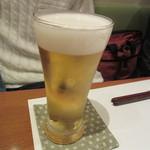 手打そば 尾沼 - 20161231 キリンハートランド 生ビール 600円