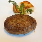 東洋軒 - 松阪牛ハンバーグステーキ 黒トリュフソース