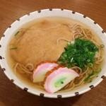 植田 - たぬき(お蕎麦、揚げ入り)