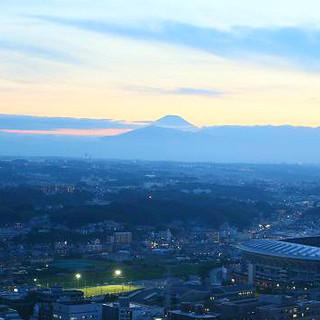 新横浜駅直結!晴れた日には富士山が見え、夜は夜景が楽しめます