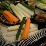 新寮 - 野菜スティック