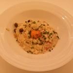 マーブルブランカフェ - 料理写真:和風カルボナーラリゾット