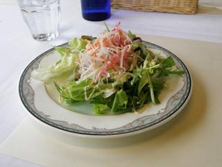 レストラン マリアージュ - ランチのサラダ