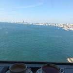 舞子 トムズ カフェ - ホットコーヒー&柚子ティー