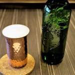 中華蕎麦 三藤 - ハートランド・ビール 500円