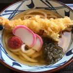 丸亀製麺 - 大海老うどん
