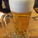 由布まぶし 心 - ビール540円