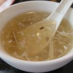 上海料理 蓮 - スープ