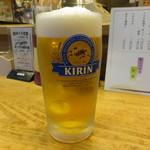竹原 - 生ビール