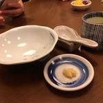 ひさご - 鍋焼き用の器とおろし生姜