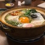 ひさご - 玉子なべやき(そば)