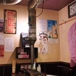 スタミナホルモン食堂 食樂 - 店内