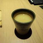 中目黒いぐち 麻布十番店 - 鶏スープ
