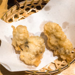 天ぷらめし 天之助 - 牡蠣