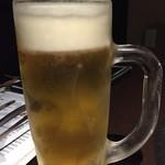 焼肉 和炎 - 生ビール