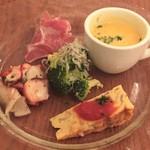 デリツィオーゾ イタリア - 前菜5種盛り合わせ