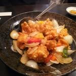 中国料理 ちゅん - 小海老の甘酢くずかけ