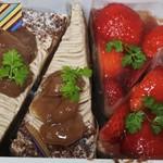Kazu - 4個のケーキ