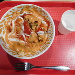 レジィズ ケバブ - 料理写真:ケバブ丼 [チキン] ¥500-