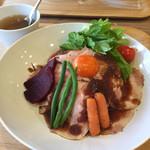 Café de chou chou - ローストポーク丼 980円