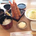 Tonkatsukewaike - 大海老フライ¥1881