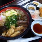 60726112 - にゅうめんとお寿司のセット