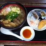 60726146 - にゅうめんとお寿司のセット