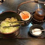 あんじん亭 - 料理写真:薬味セット